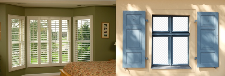 Phoenix AZ indoor and outdoor shutters