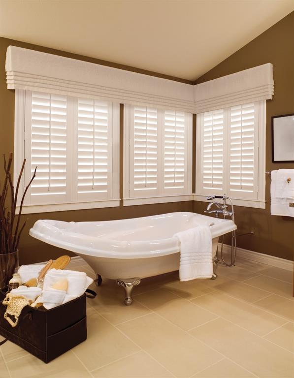 Bathroom Window Treatments Sunburst Shutters Phoenix