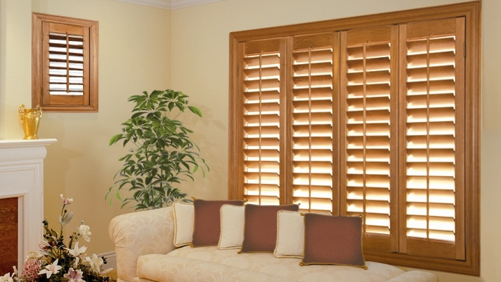 wood shutters Phoenix sunroom