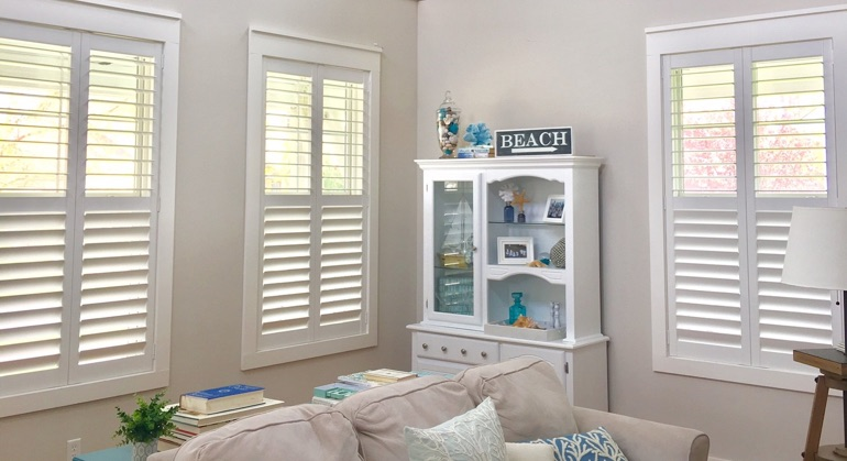 plantation shutters in Phoenix sunroom