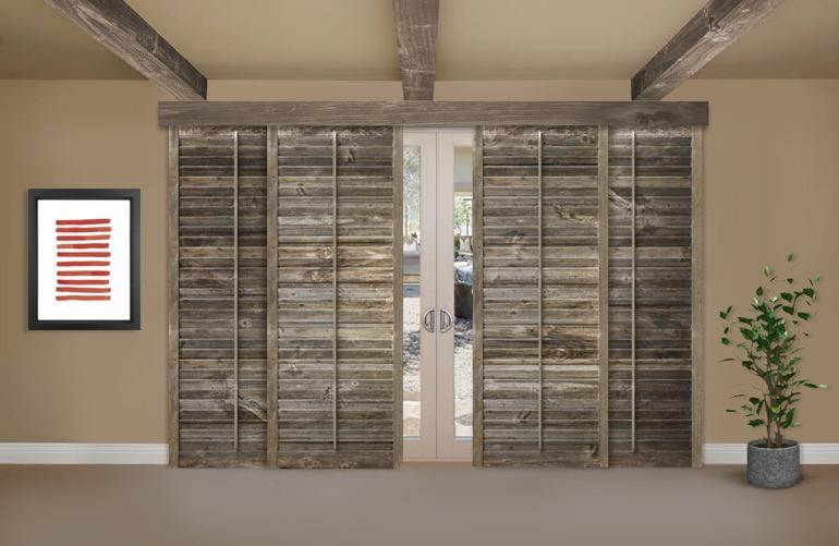 Reclaimed Wood Shutters For Sale   Sunburst Shutters Phoenix, AZ