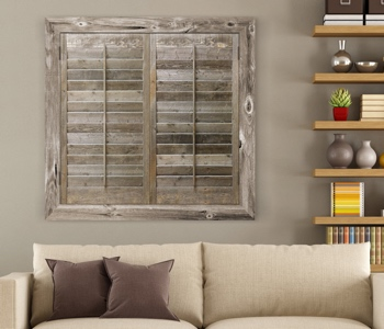 Reclaimed Wood Shutters Product In Phoenix