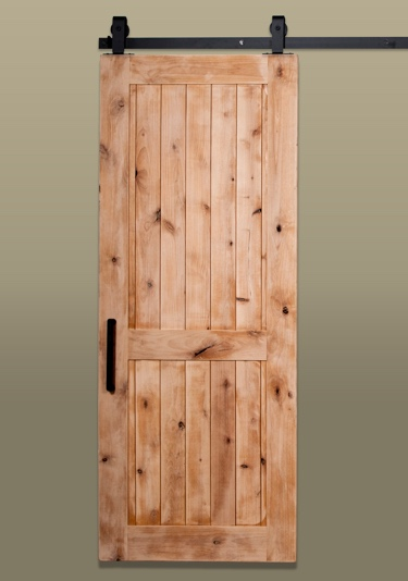 Rustic Barn Door Two Panel