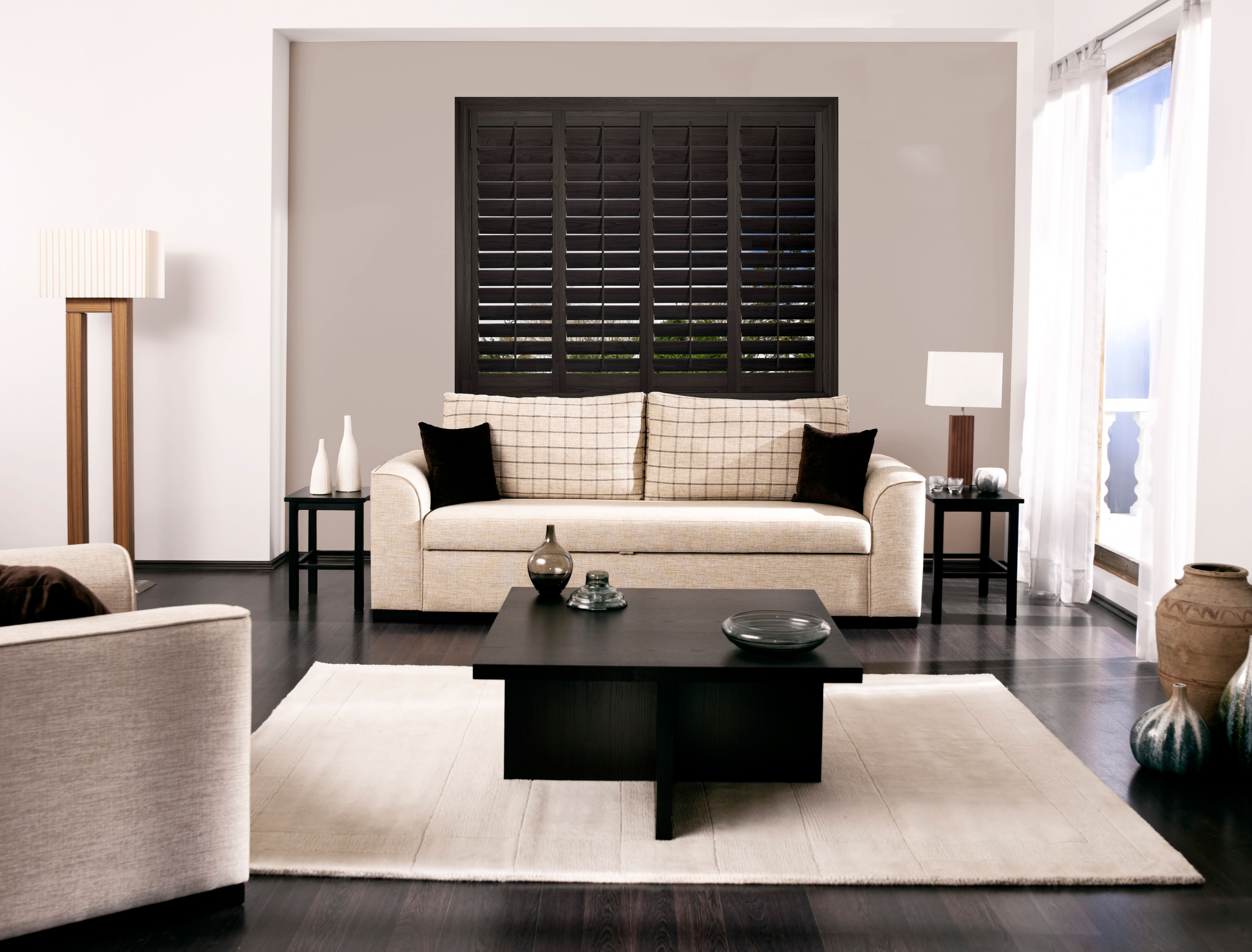Dark Walnut Shutters Phoenix