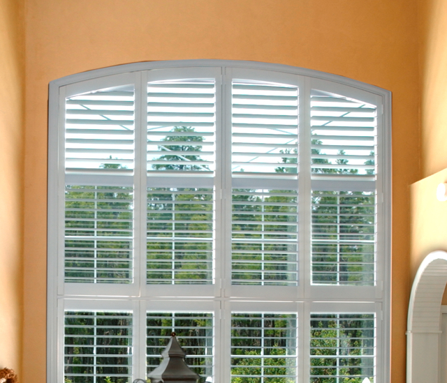 Arched Window Shutters In Phoenix, AZ