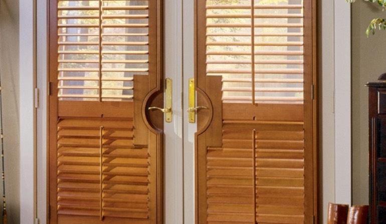 French Door Shutters In Phoenix Sunburst Shutters Phoenix Az