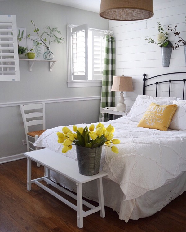 Phoenix cottage bedroom shutters
