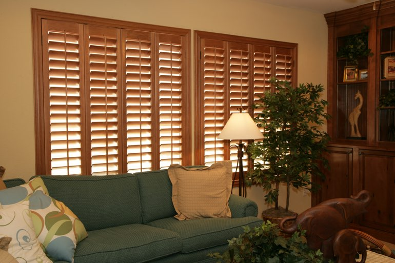 Ovation Shutters In A Phoenix Living Room.