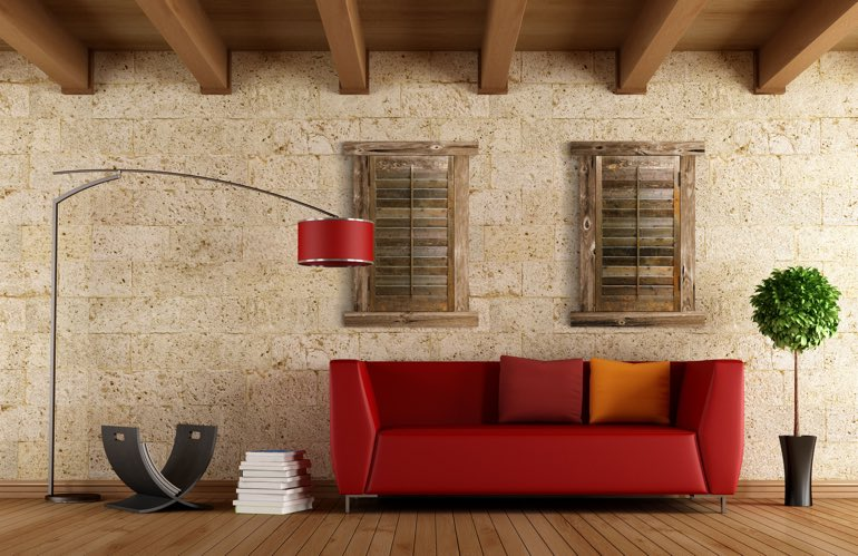 Hottest Trends In Window Treatments In Phoenix: Reclaimed Wood Shutters